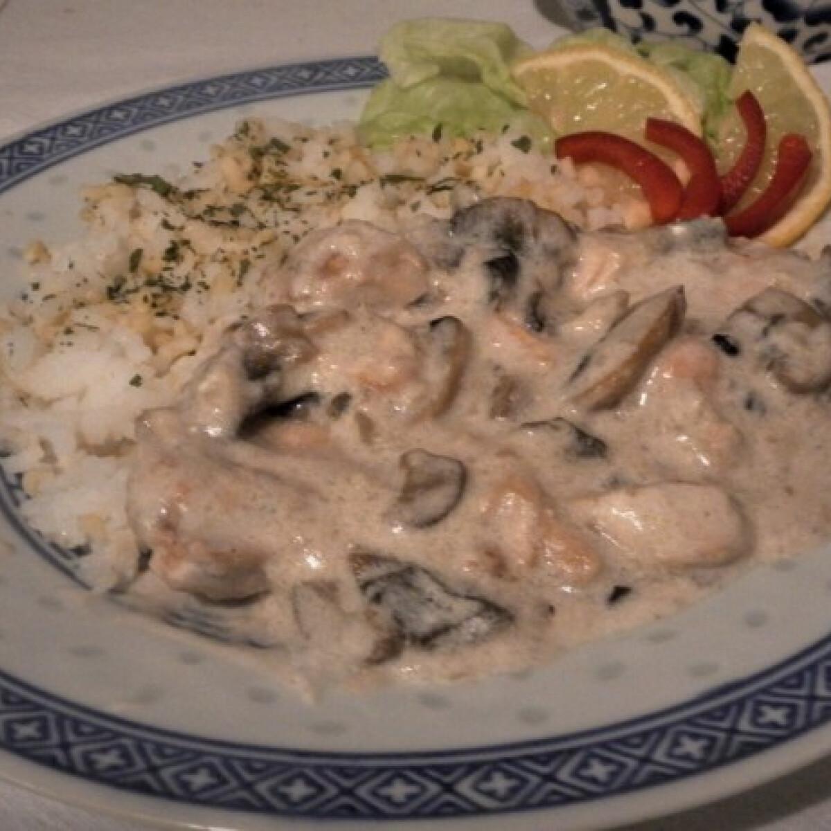 Ezen a képen: Gombás szelet giuliettalupa konyhájából