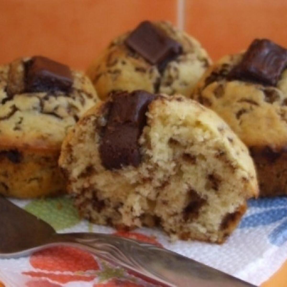 Ezen a képen: Csokis muffin