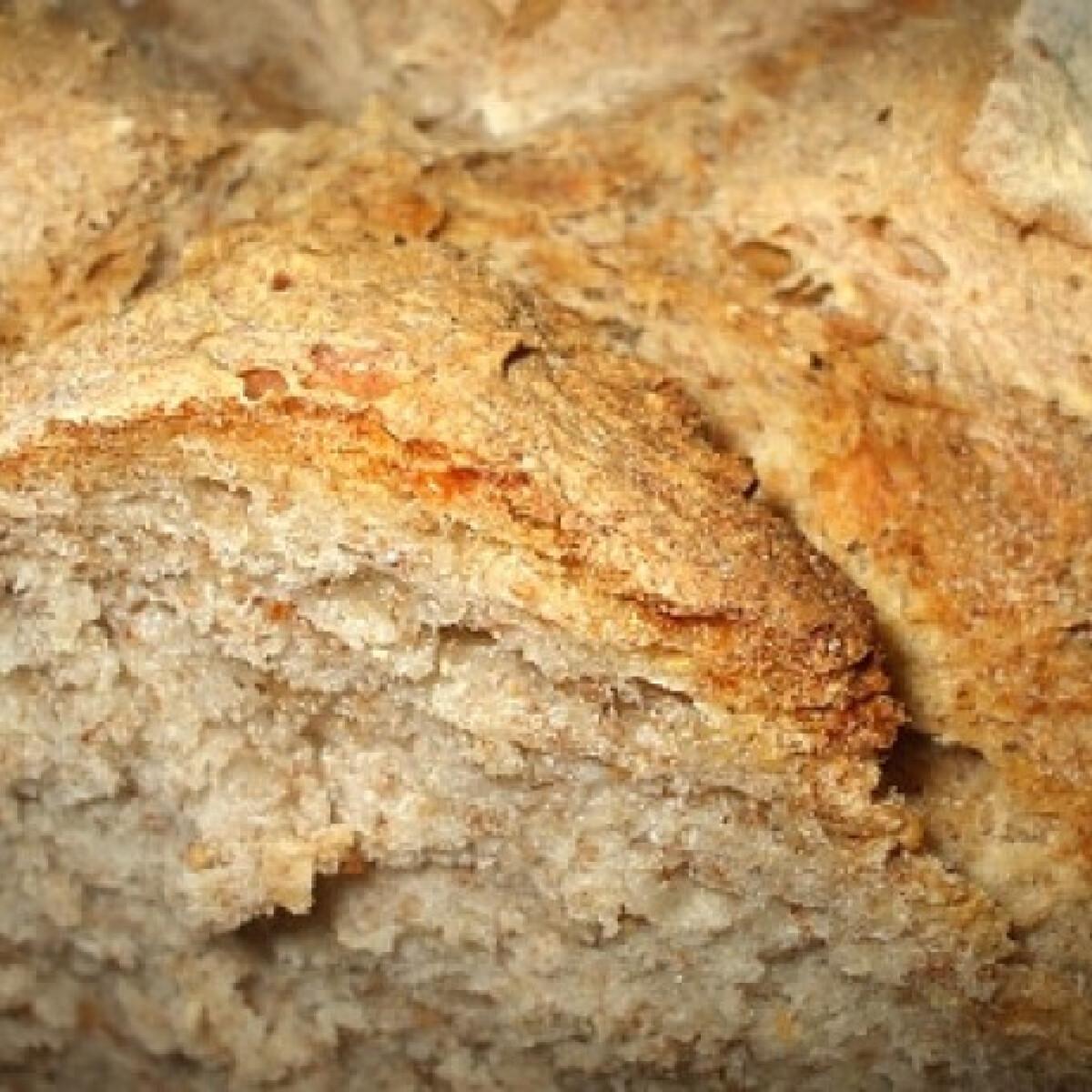 Ezen a képen: Sörös-egész zabos kenyér