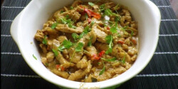 Thai zöld currys csirke