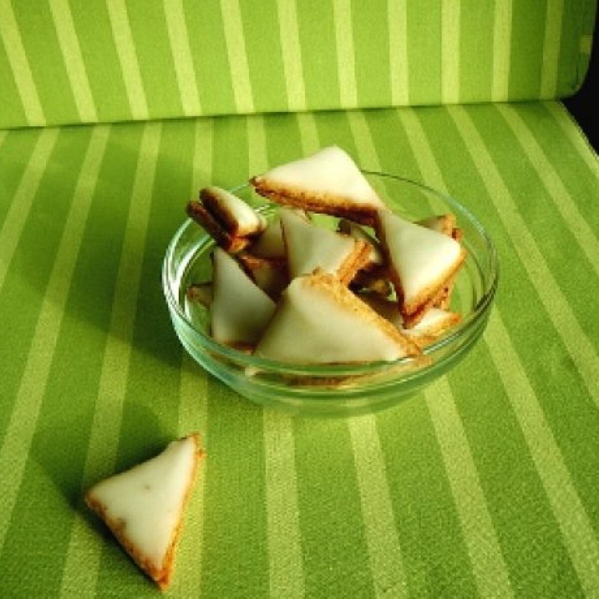Ezen a képen: Citromos háromszögek