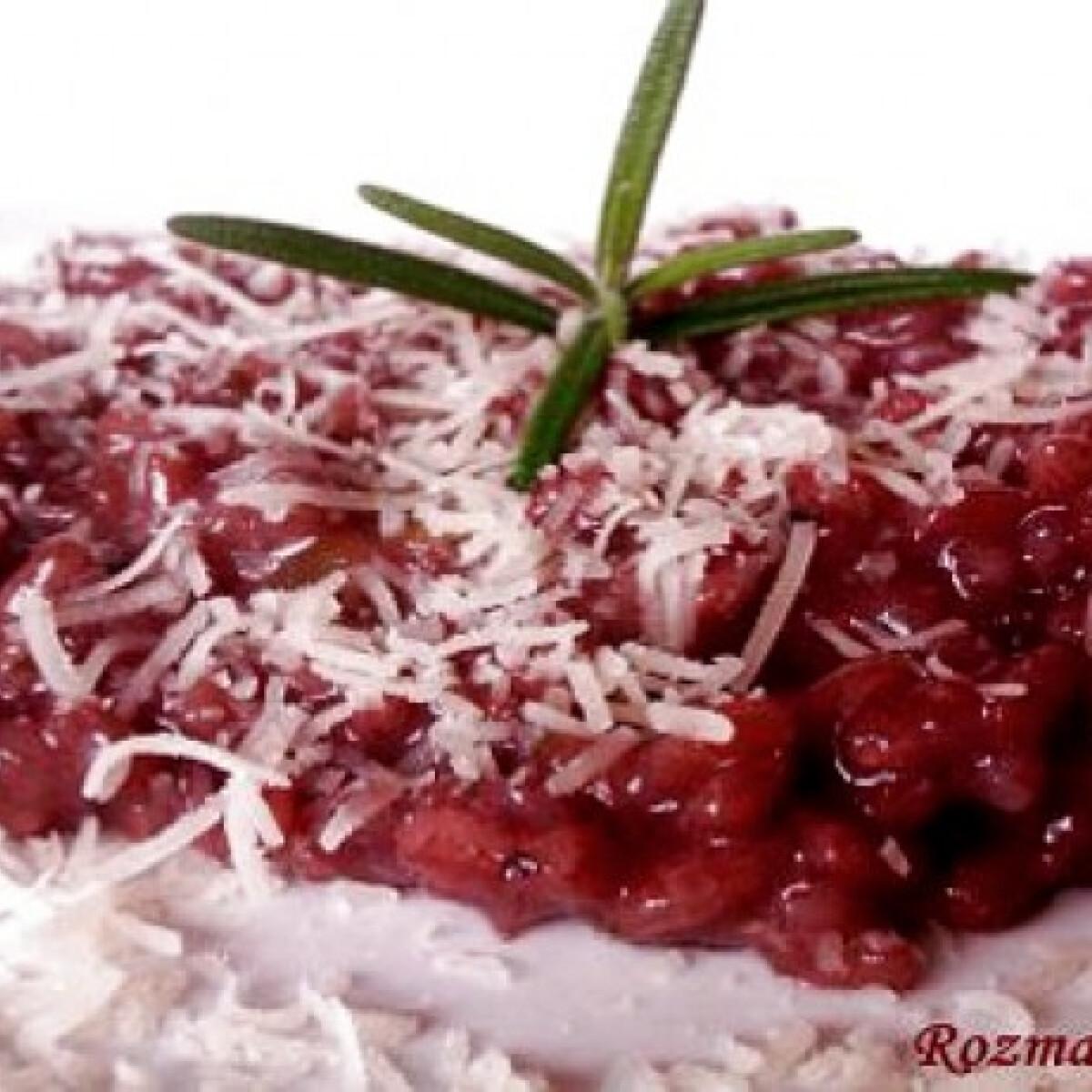 Ezen a képen: Chianti risotto