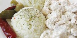Natúr joghurtban pácolt pulyka