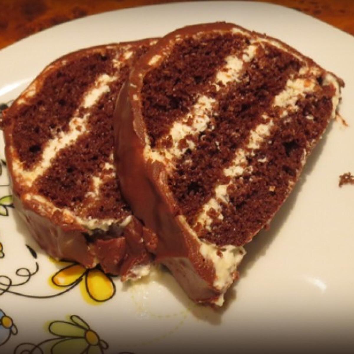 Ezen a képen: Túró rudi őzgerincben cam konyhájából