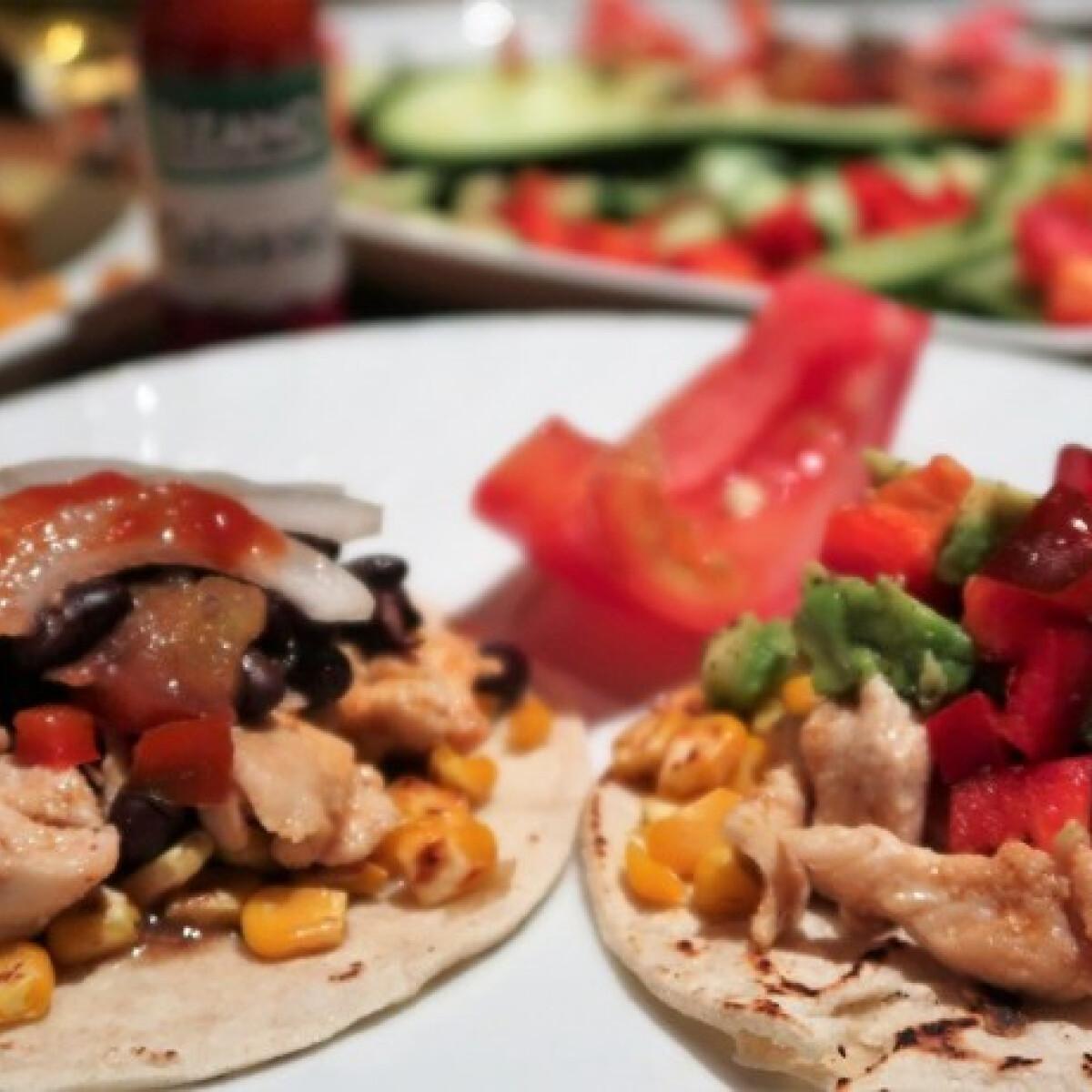 Ezen a képen: Costa ricai taco