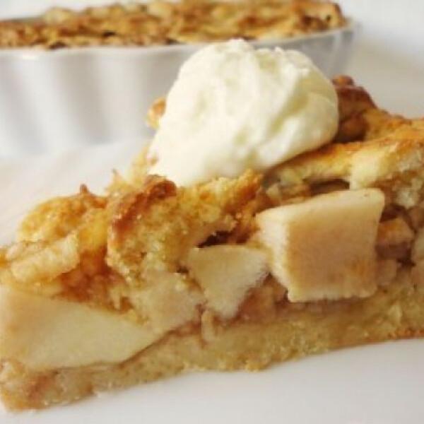 Gyömbéres-szegfűszeges almás pite