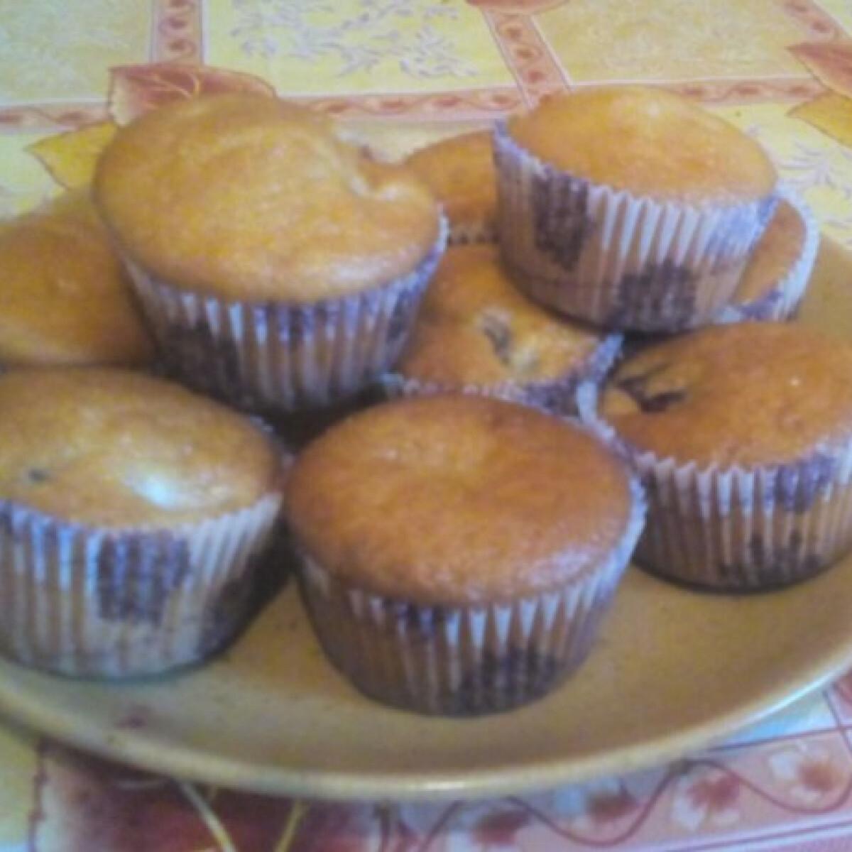 Ringlószilvás muffin