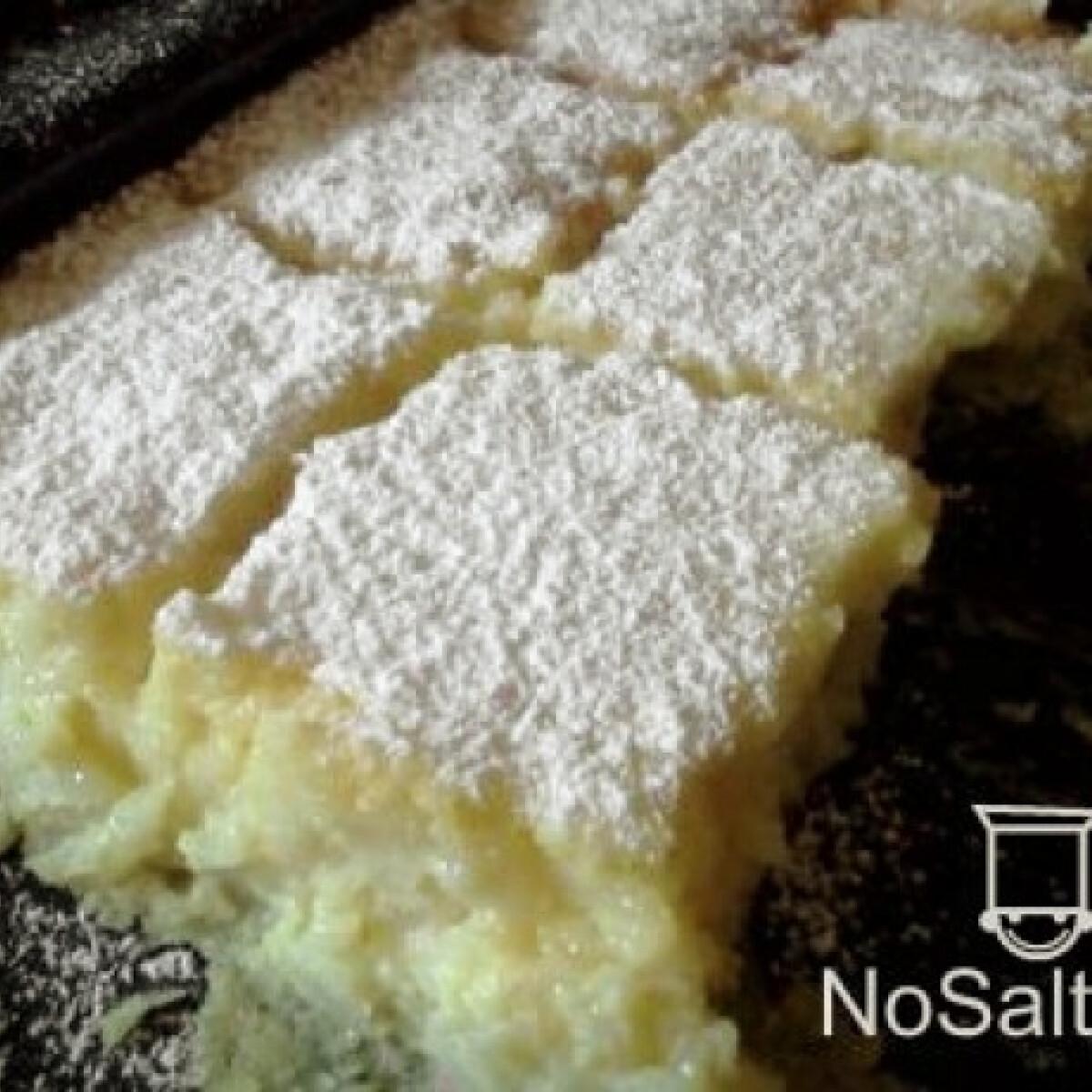 Ezen a képen: Citromos rizsfelfújt