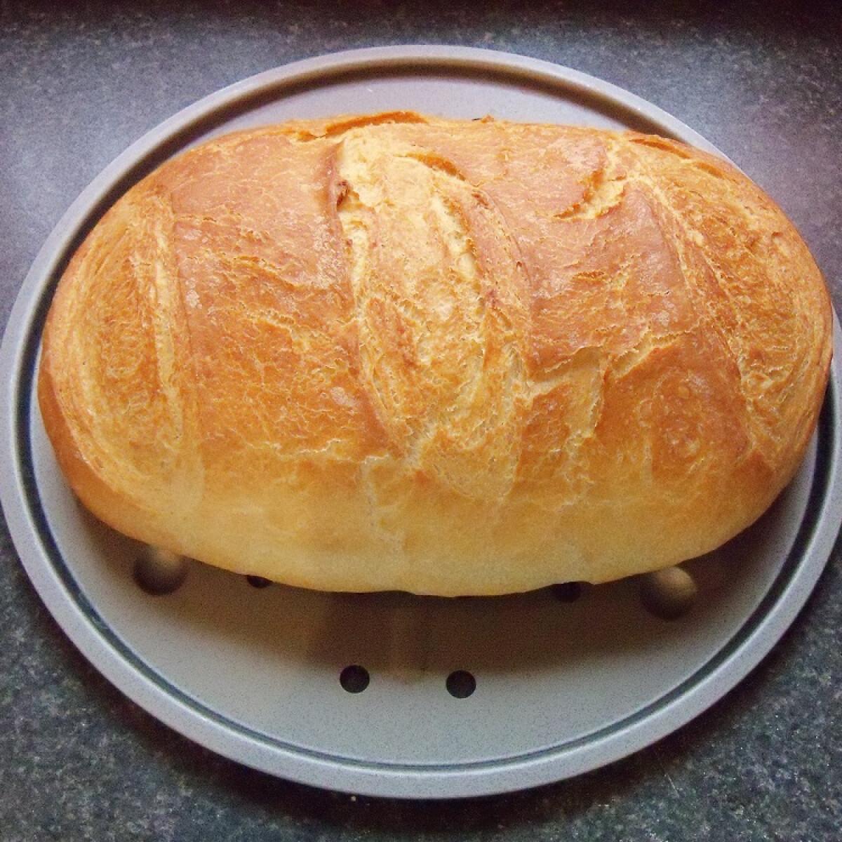 Ezen a képen: Fehér kenyér Bettymami konyhájából