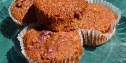 Bögrés kakaós-meggyes muffin