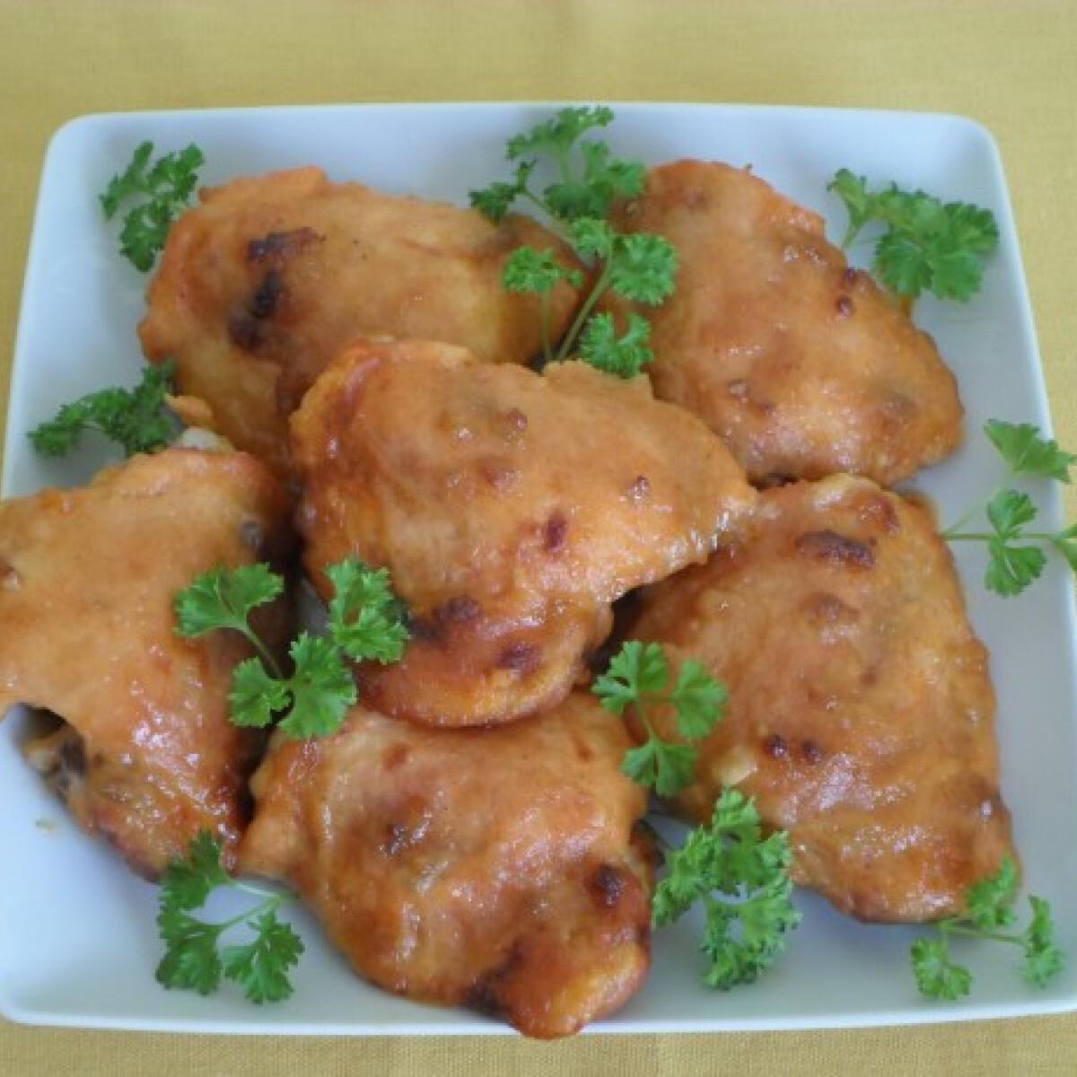 Mézes-fokhagymás csirkecomb