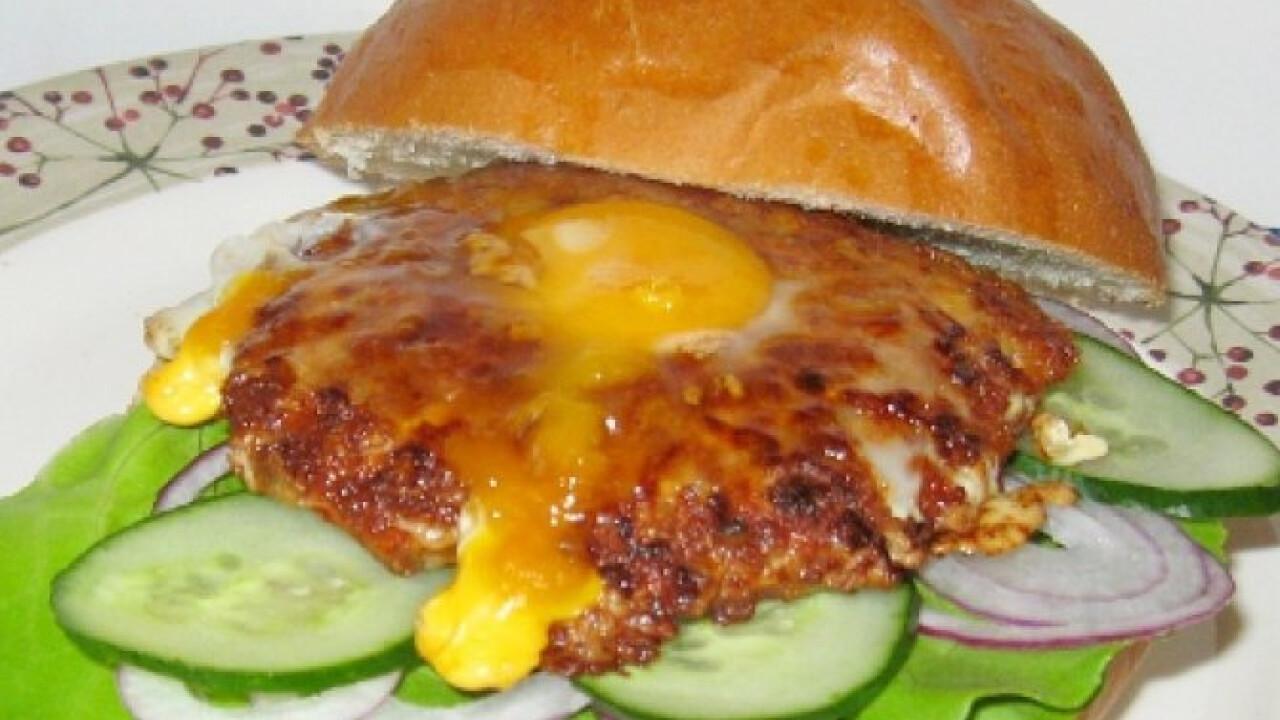 Tojásos hamburger