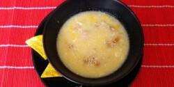 Csirkés kukoricaleves Évi nénitől