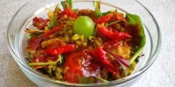 Mungóbab saláta