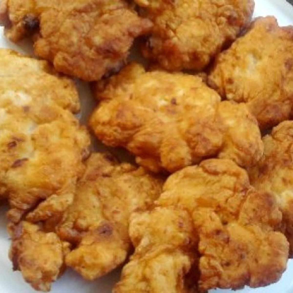 Majonézes-sajtos csirkefilé