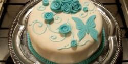 Raffaello torta fondant bevonattal