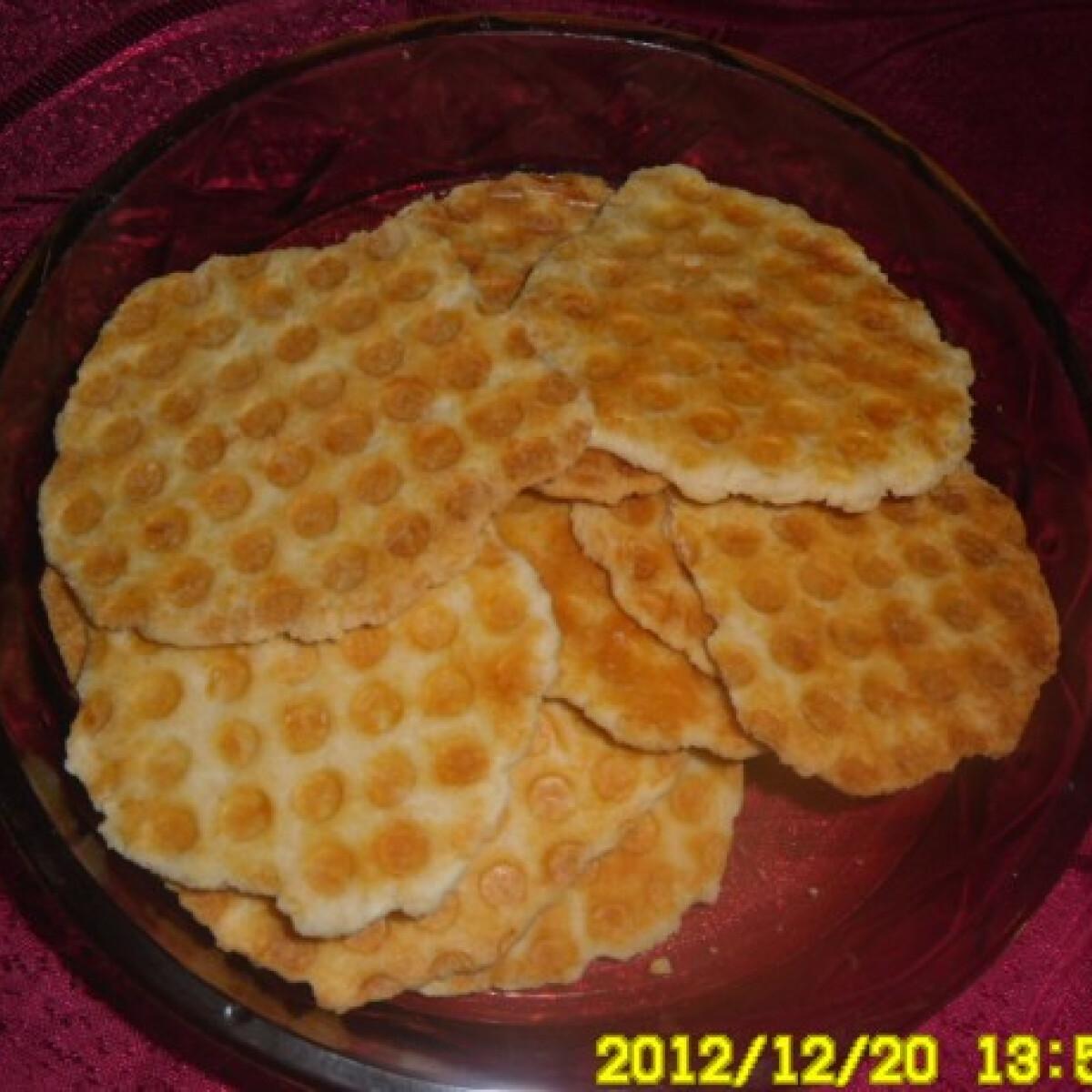 Ezen a képen: Sós ropogós Kisvikica konyhájából