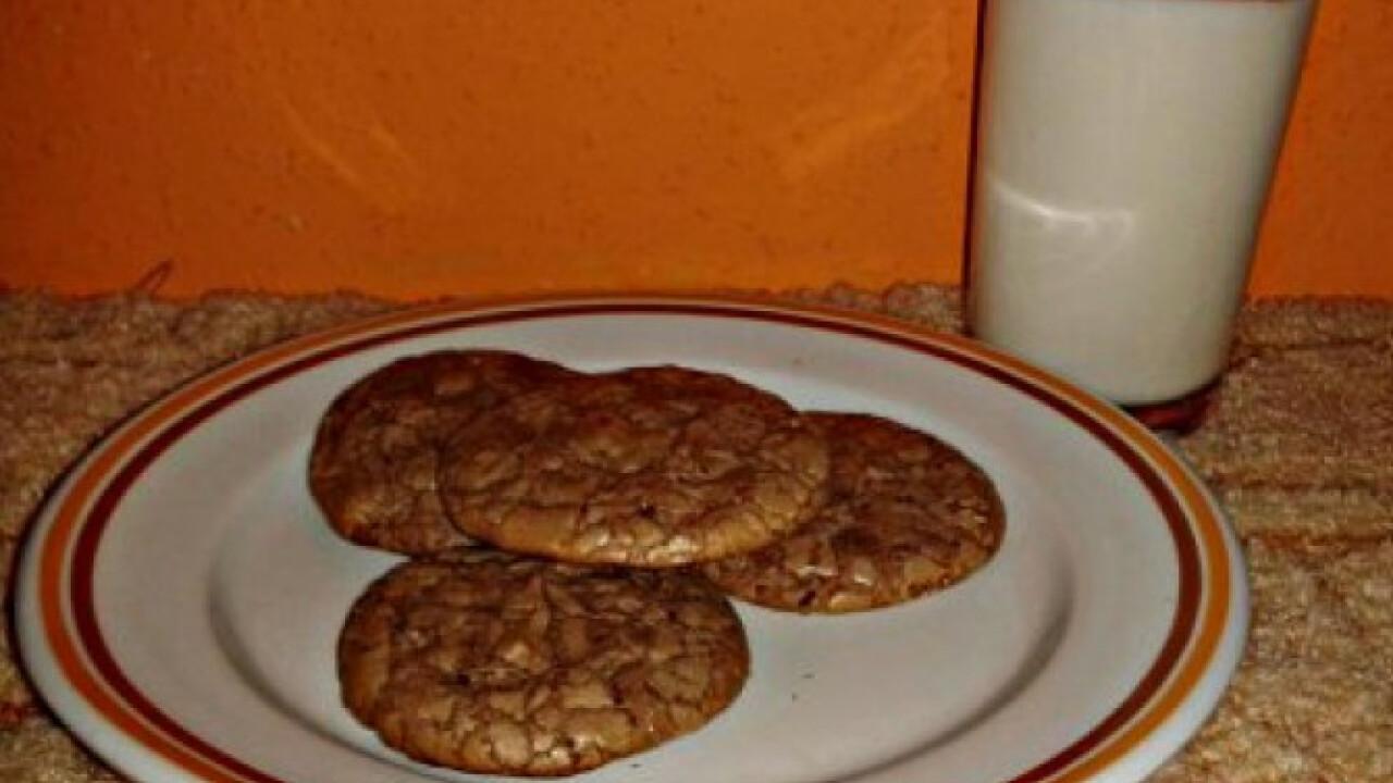 Nutellás-csokis keksz