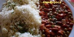 Chilis babos-gombás milánói szósz virslivel
