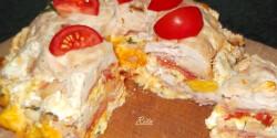 Csirkemell kuglóf TraRita konyhájából