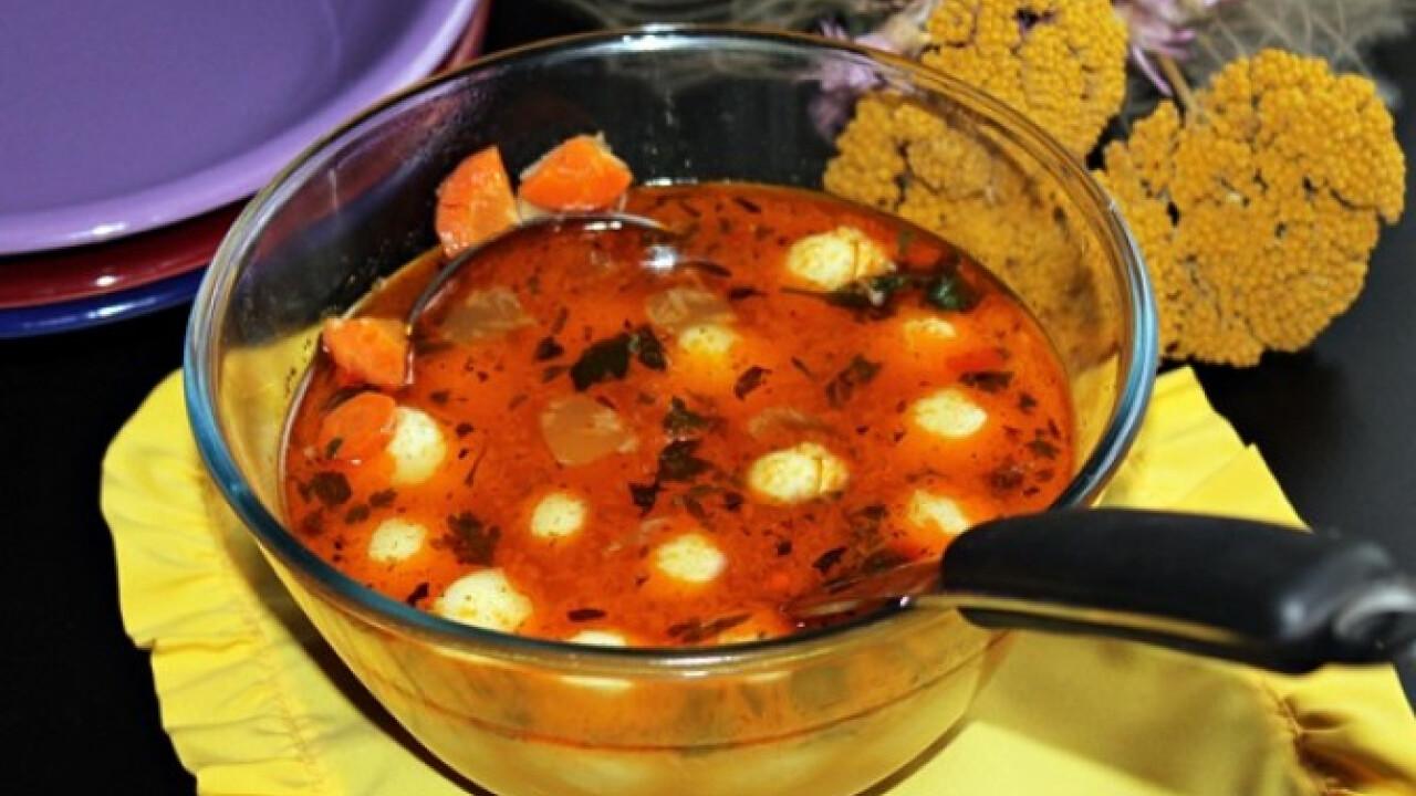 Burgonyagombóc-leves Iluskától