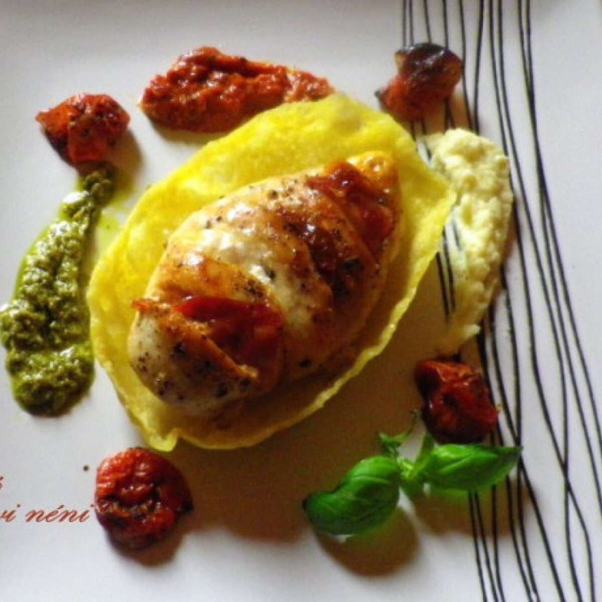 Ezen a képen: Olaszos csirkemell fehérjenapra