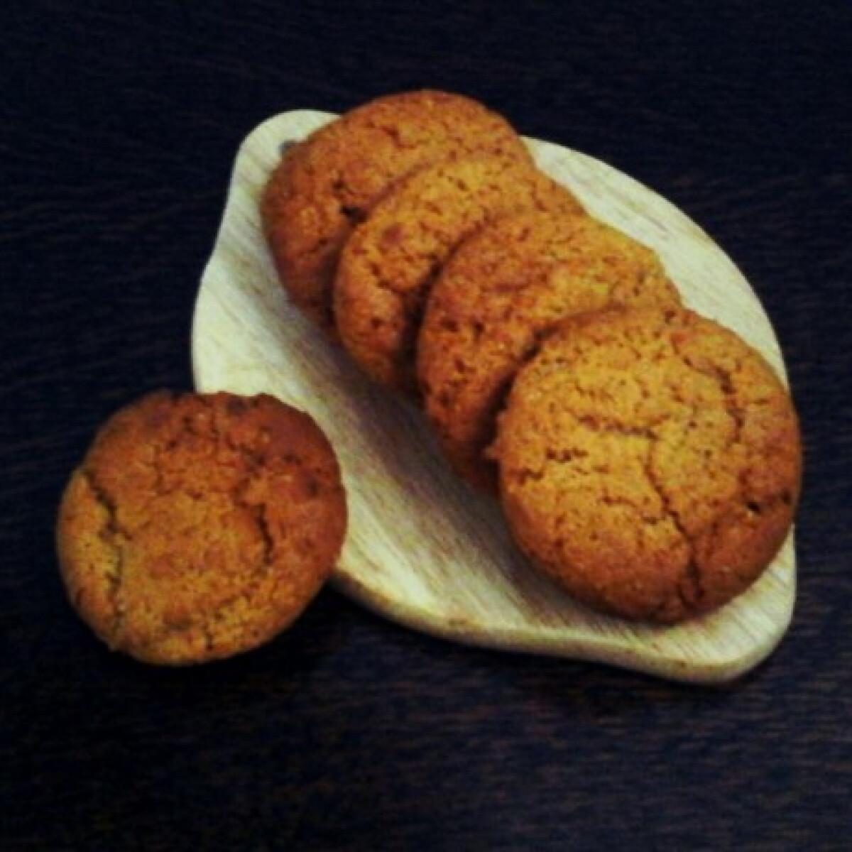 Angol gyömbéres keksz