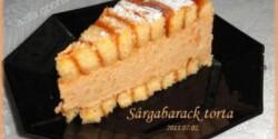 Sárgabarack torta 2.