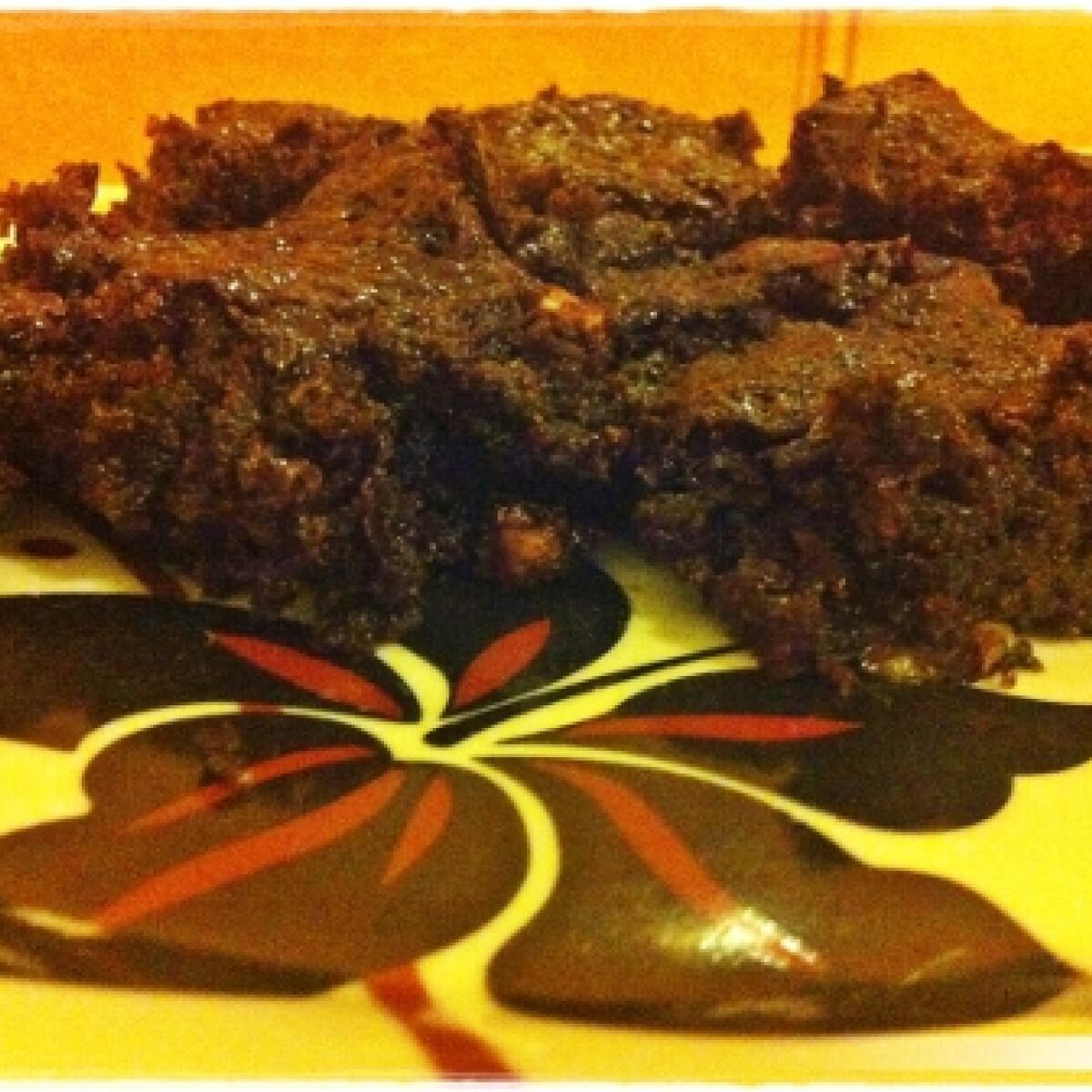Csokis-banános süti