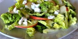 Kecskesajtos római saláta