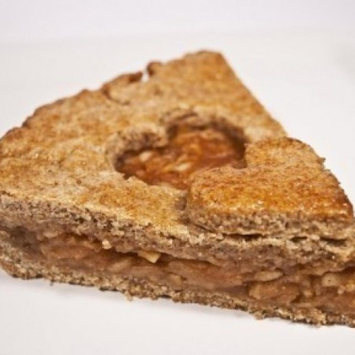 Ezen a képen: Gyömbéres almás pite - Almás pite 6.