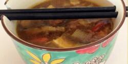 Kínai leves Mercedes konyhájából
