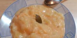 Krumplifőzelék tejfölös habarással