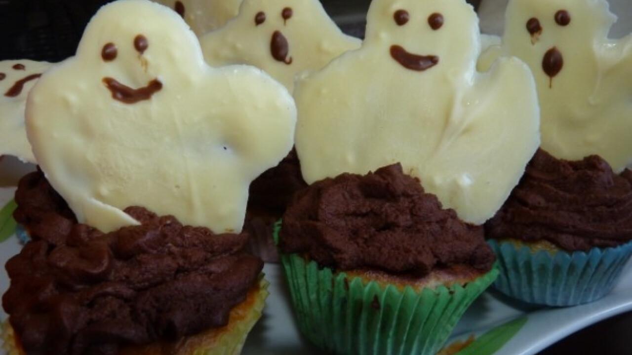 Szellemes muffin
