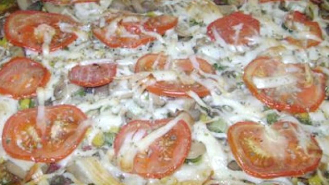 Brokkoli alapú pizza