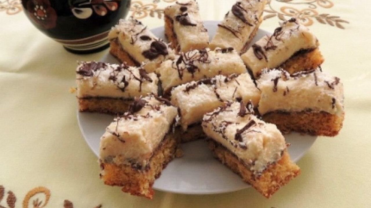 Kókuszos süti Tanitától