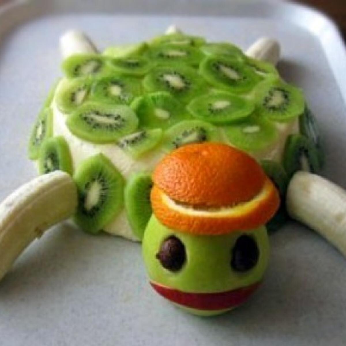 Ezen a képen: Teknősbéka torta