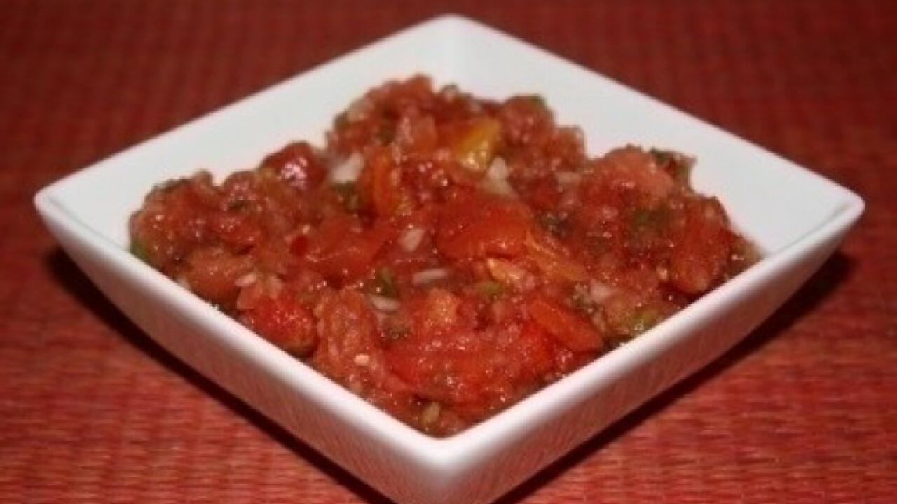 Paradicsomos salsa 2.