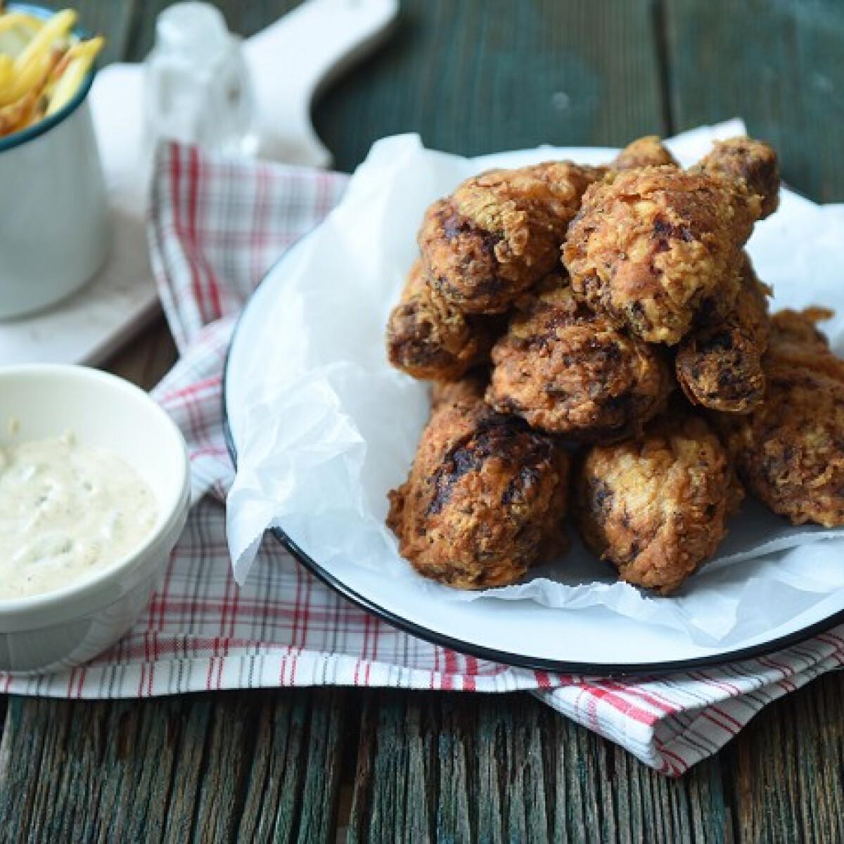 Ezen a képen: Fűszeres amerikai csirkecombok
