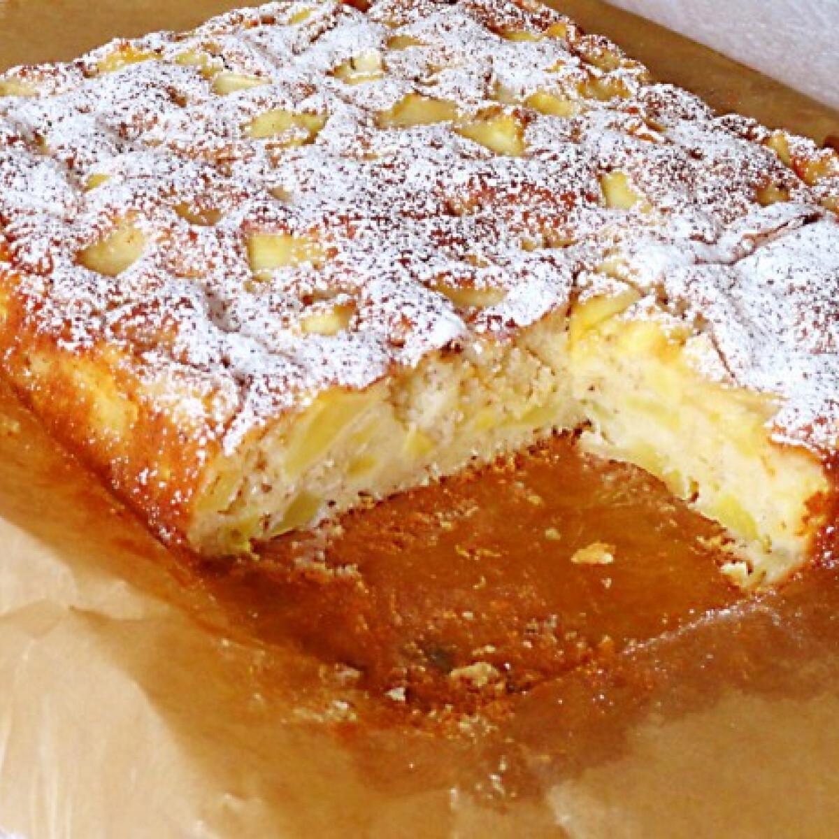 Ezen a képen: Kevert almás sütemény Glaser konyhájából