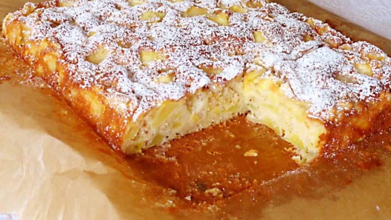 Kevert almás sütemény Glaser konyhájából