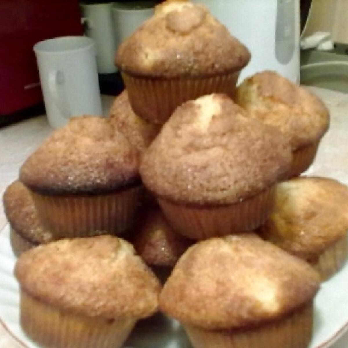 Ezen a képen: Körtés-gyömbéres muffin
