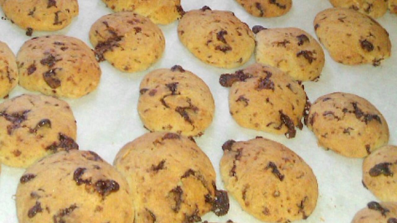 Amerikai csokoládés keksz