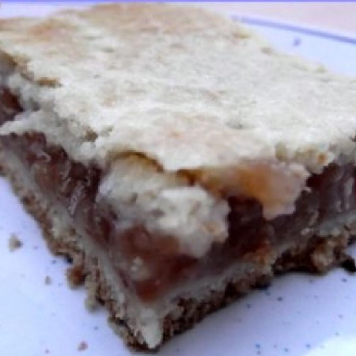 Cukormentes almás pite