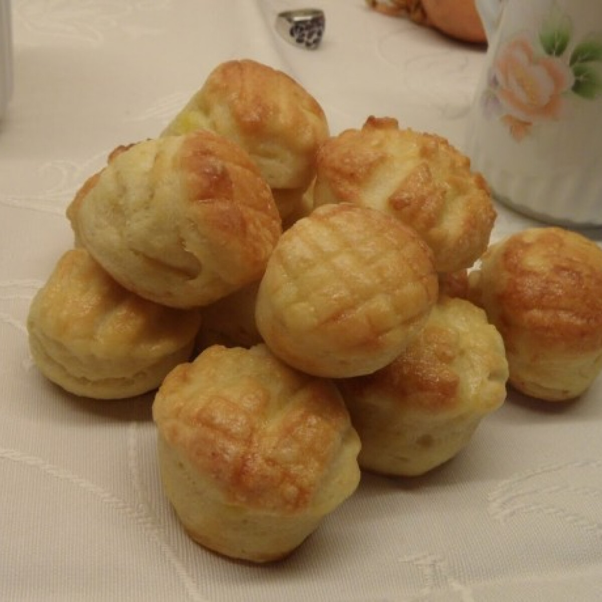 Ezen a képen: Krumplis pogácsa Olgitól
