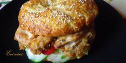 Csirkés szendvics Évi nénitől