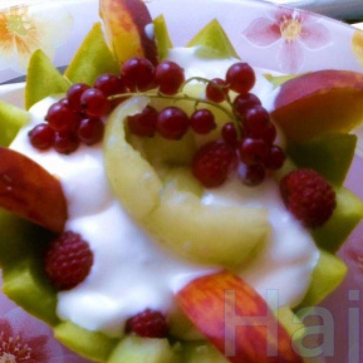 Ezen a képen: Nyári gyümölcsfészek
