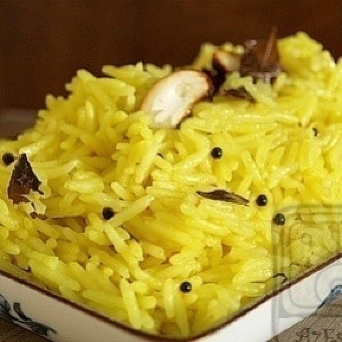 Ezen a képen: Citromos rizs