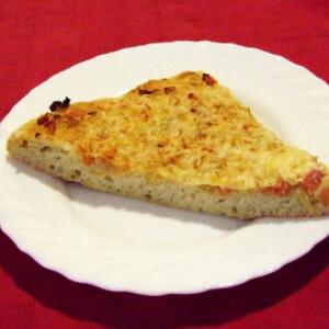 Albínó pizza