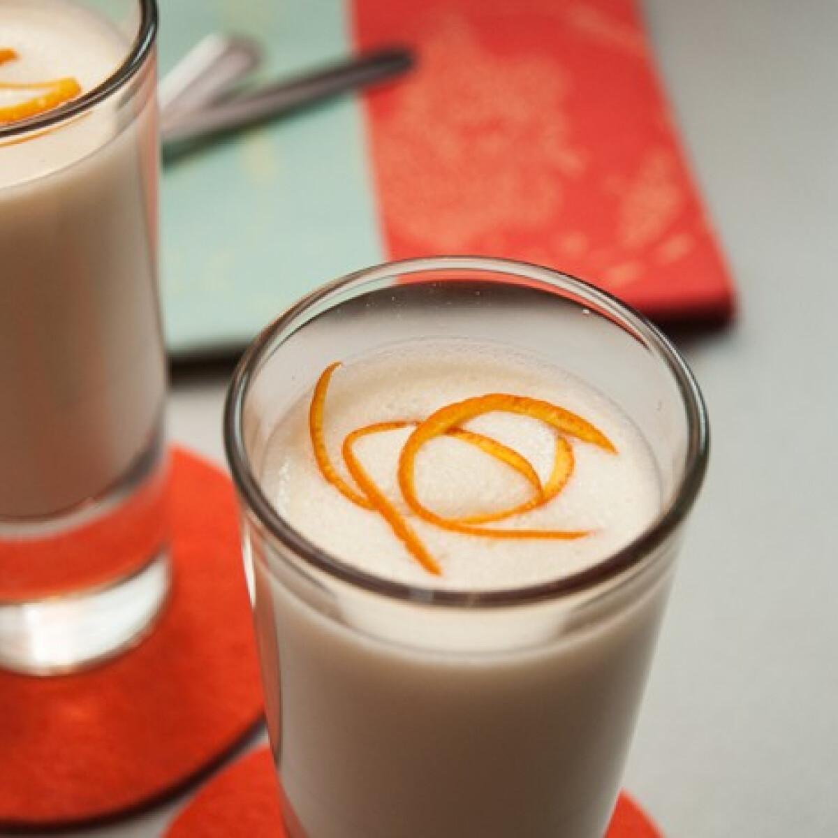 Fehér csokikrém naranccsal és kardamommal